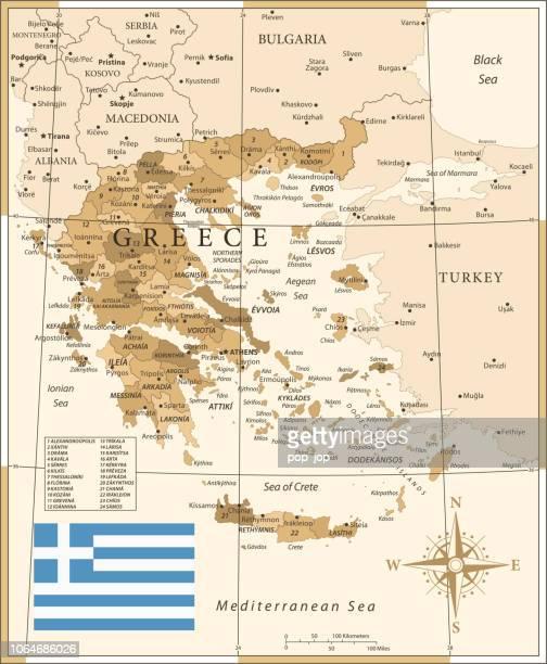25 -greece - vintage golden 10 - greece v albania stock illustrations