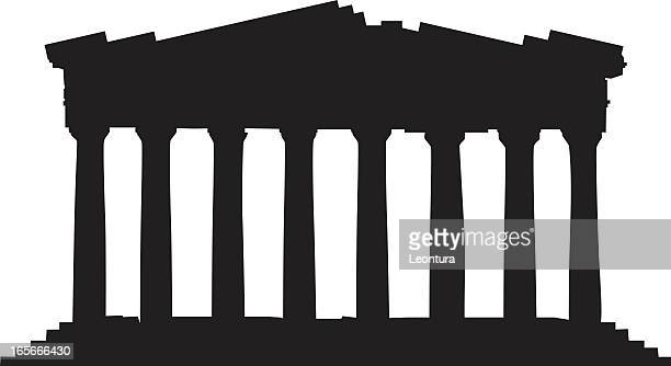 ilustrações, clipart, desenhos animados e ícones de grécia o partenon - partenão acrópole