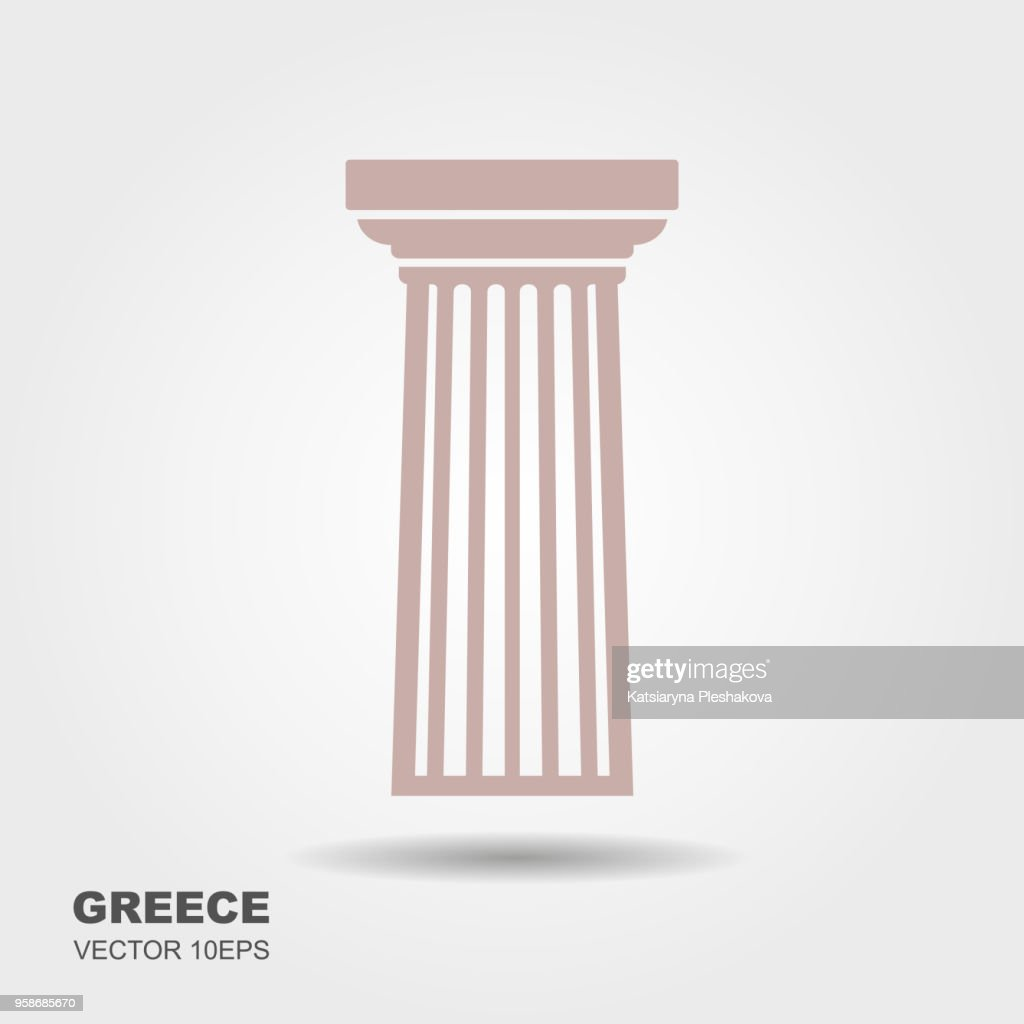 Greek classical column