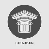Greek column.