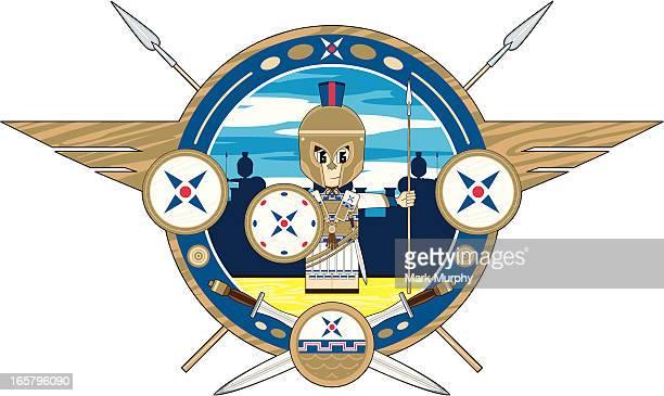 Greek Hoplite Soldier Badge