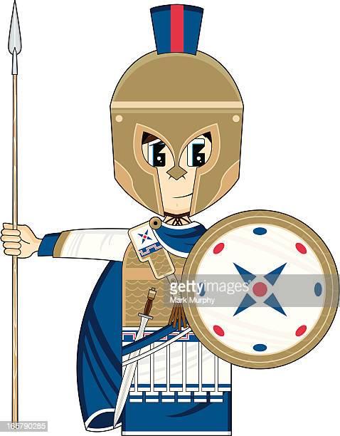 Greek Hoplite Soldier