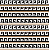 Greek key. Typical egyptian, assyrian and greek motives.