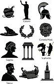 Greek Mythology icons