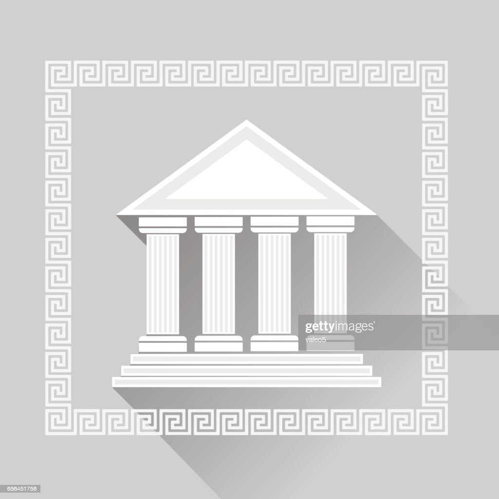 Greek Pillars Icon