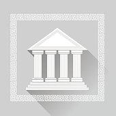 Greek Pillars Icon