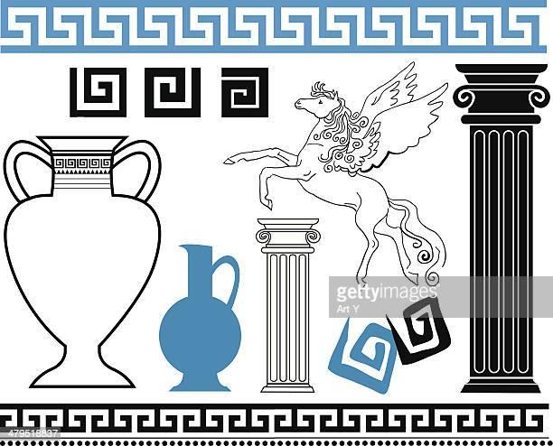 greek - greek culture stock illustrations