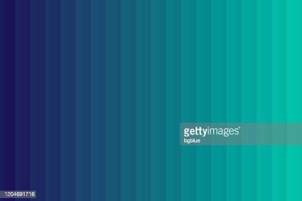 green abstract gradient background decomposed into vertical color lines - navy blue stock illustrations