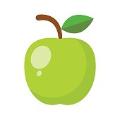 Green apple Fruit Illustration