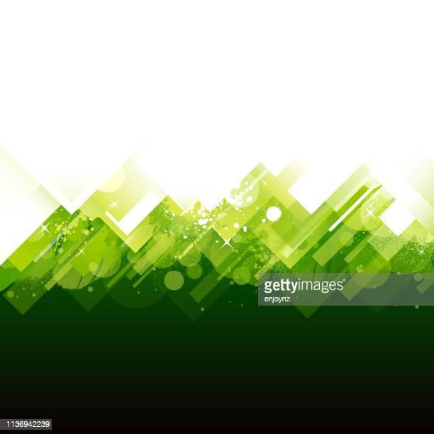 green background - environmental conservation stock illustrations