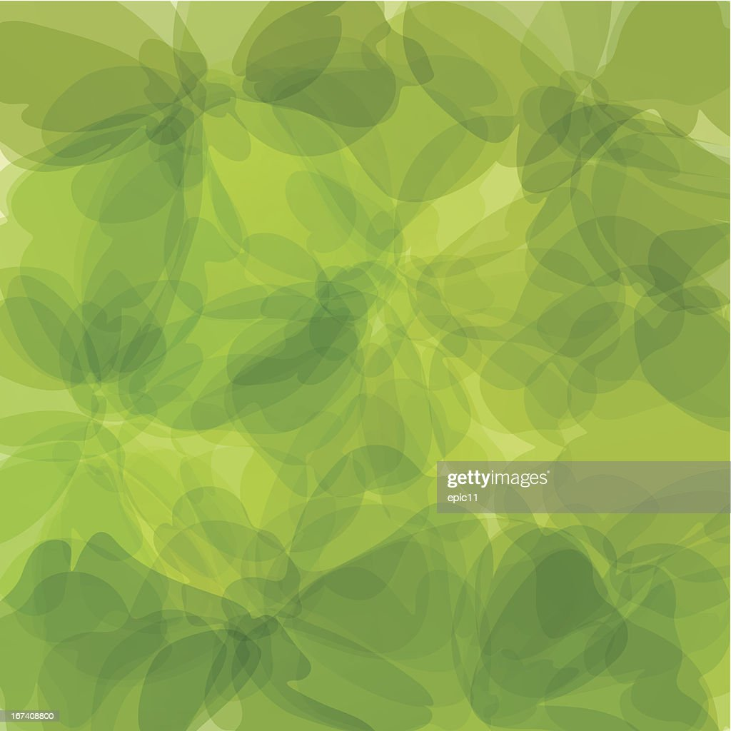 Green Background Watercolor Painting : Vector Art