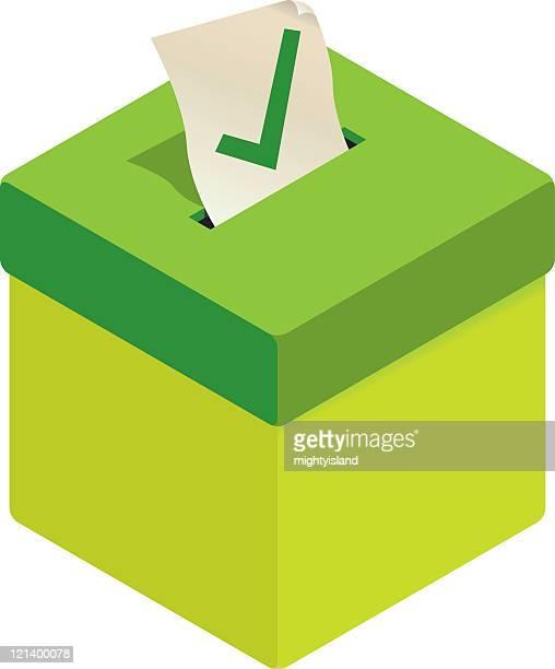 Green Ballot Box