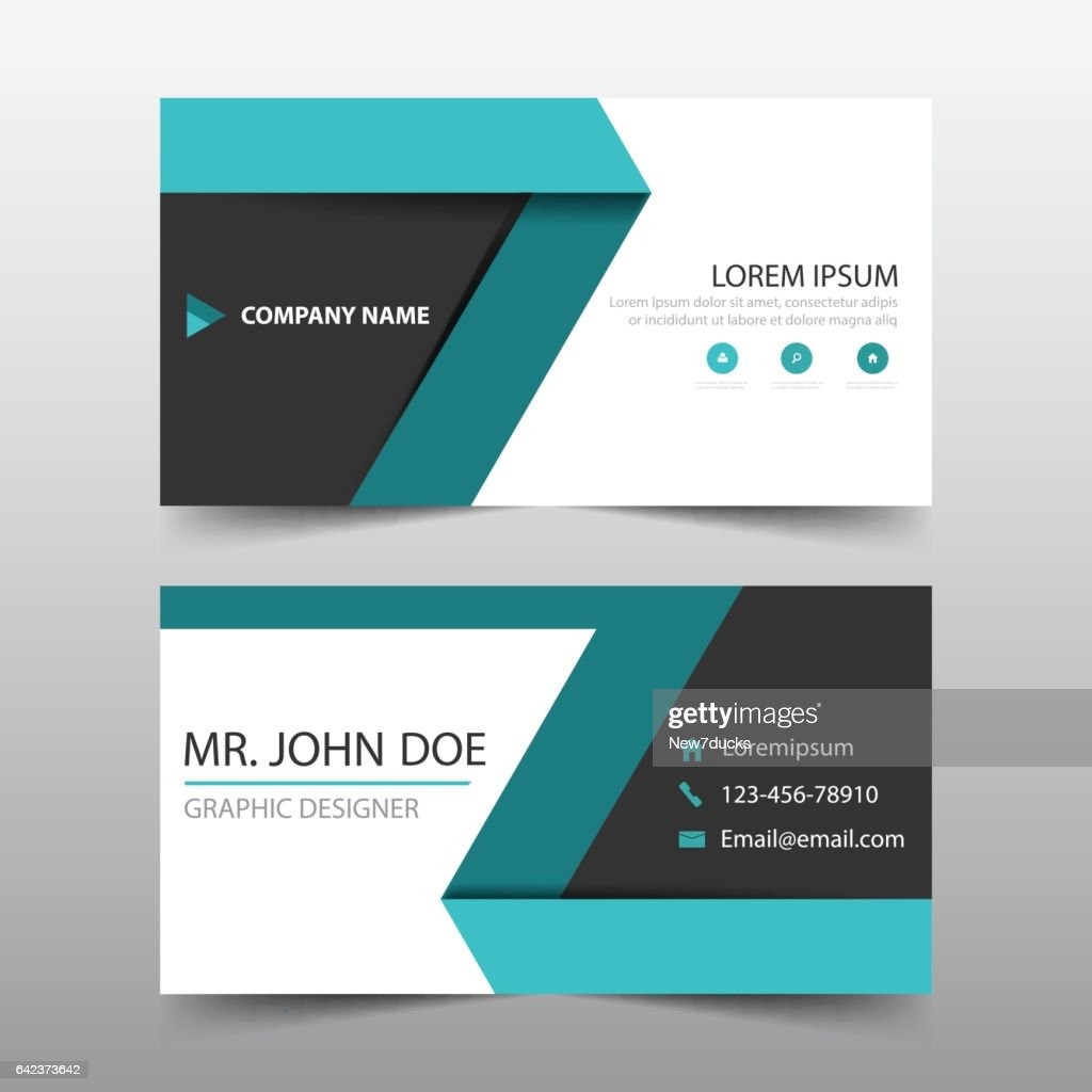 Green black corporate business card header template flat design set green black corporate business card header template flat design set vector art flashek Gallery