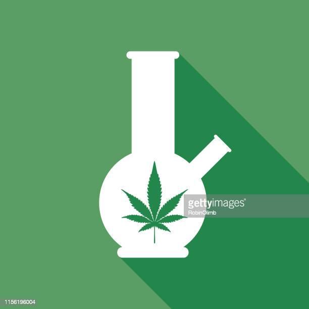 green bong icon - bong stock illustrations, clip art, cartoons, & icons