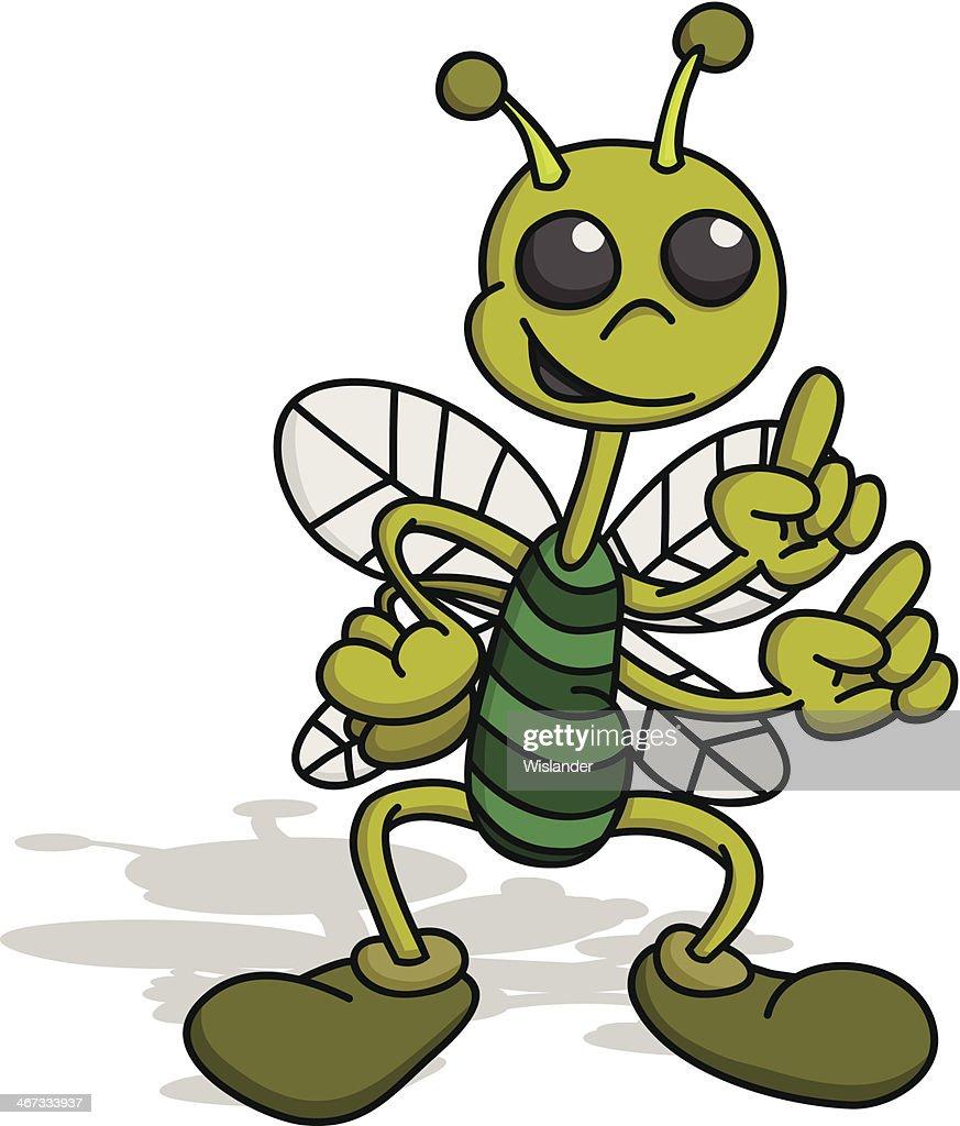Green Bug : stock illustration