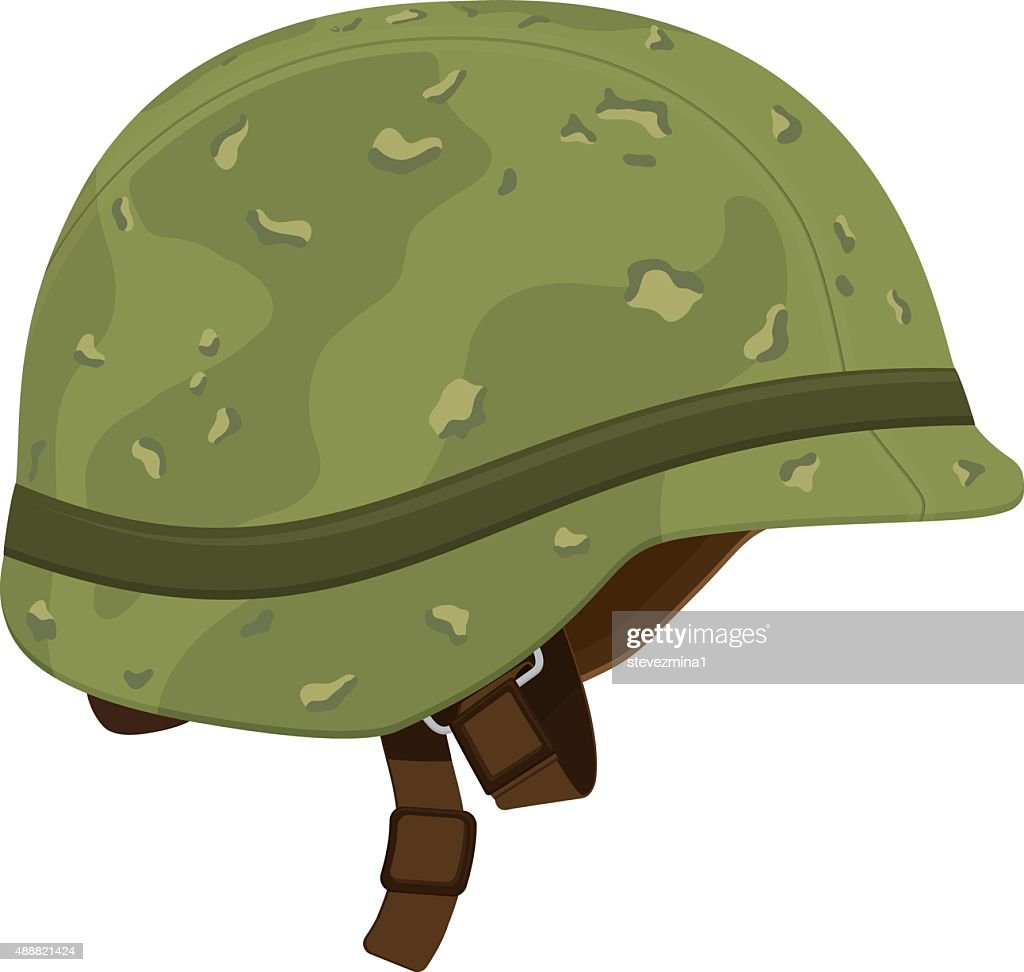 army helmet stock illustrations and cartoons getty images rh gettyimages com Cartoon Banner Cartoon Army Guy
