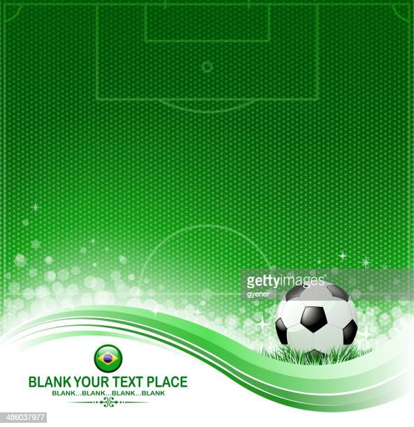green championship wave - football field stock illustrations, clip art, cartoons, & icons