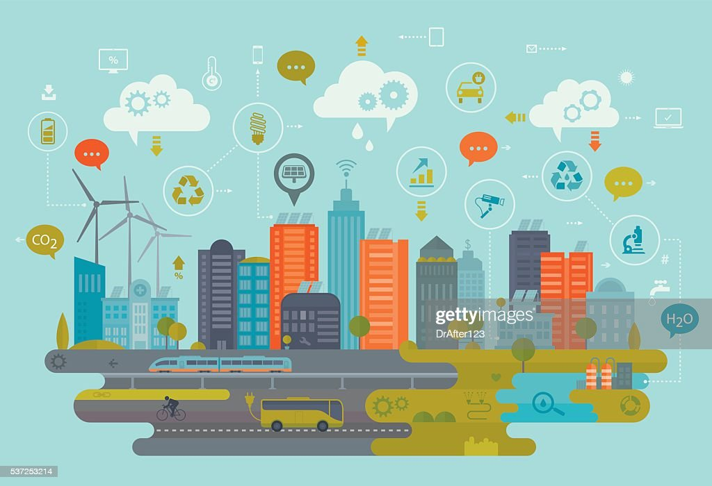 Green City And Smart Technology