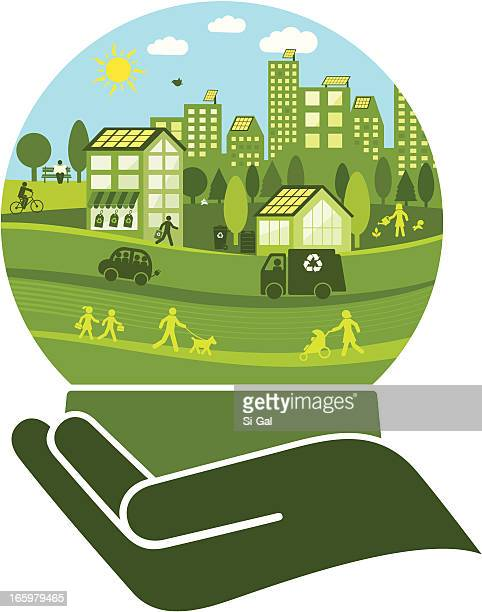Green City in a Crystal Ball
