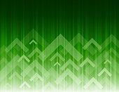 Green color background with fading white direction arrow pattern