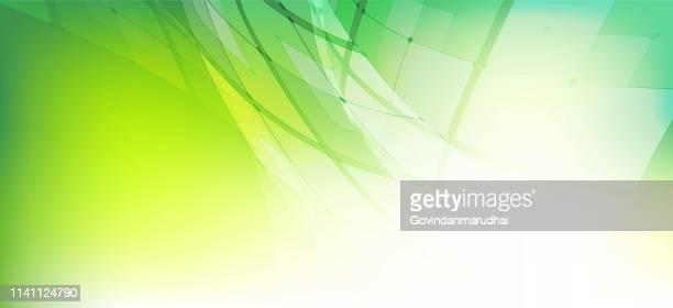 illustrazioni stock, clip art, cartoni animati e icone di tendenza di sfondo astratto della tecnologia della forma green color circle - affari finanza e industria