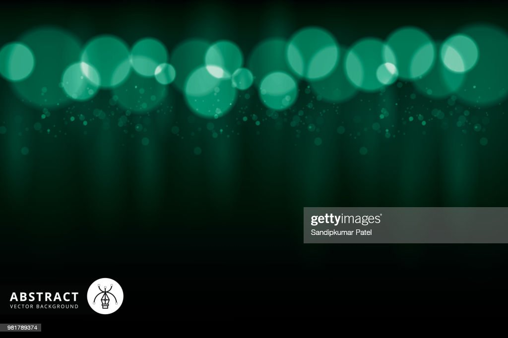 Green color design with a burst : stock illustration