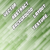 Green Diagonal Background