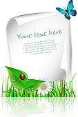 Green Eco Layout, Background Design