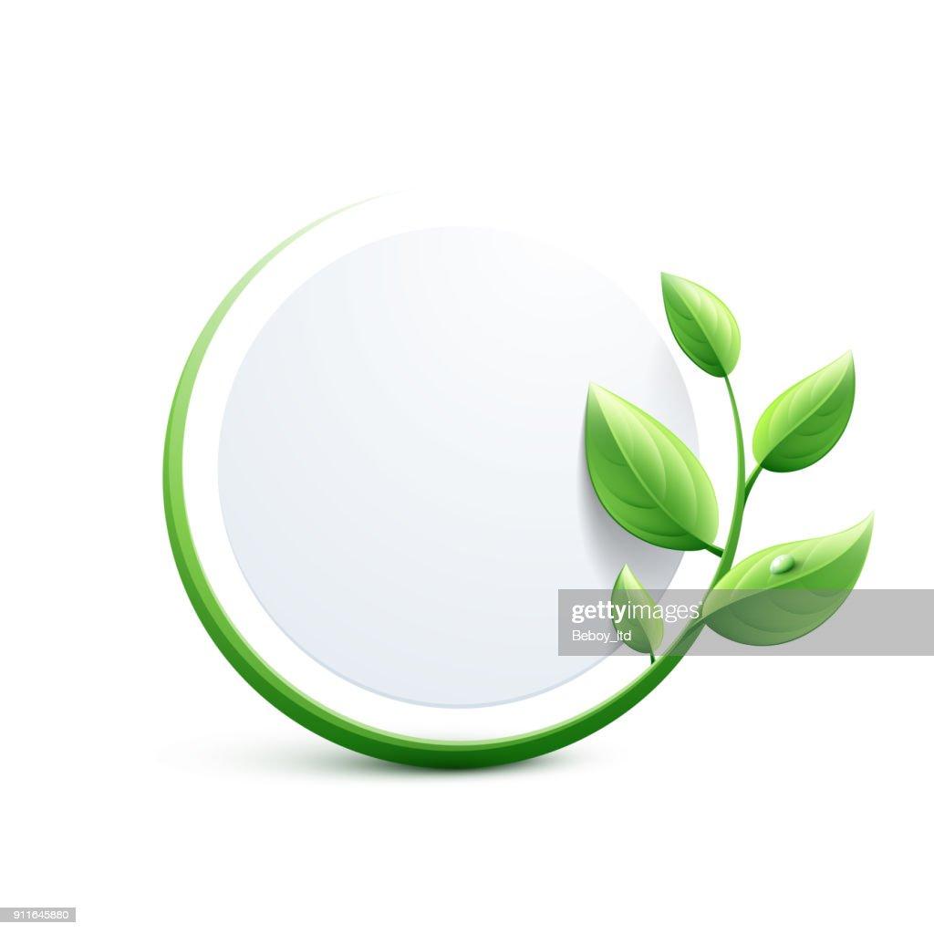Green eco-friendly design