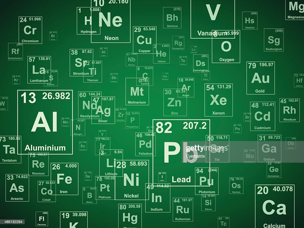 Green Elements Background