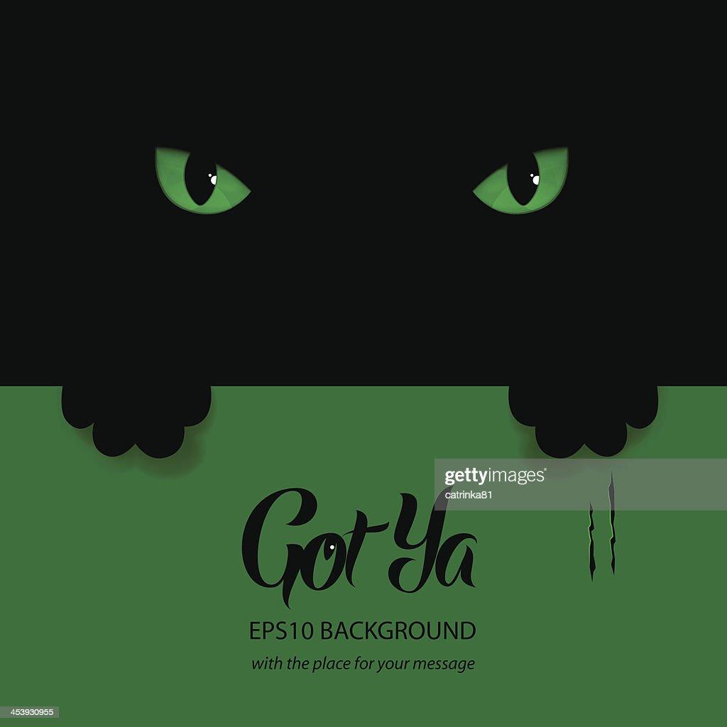 Green eyes banner