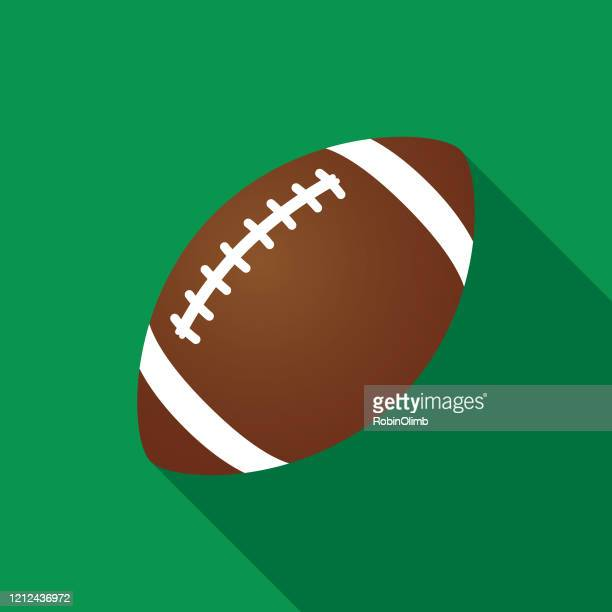 green football icon - american football stock illustrations