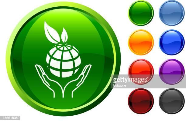green globe royalty free vector art