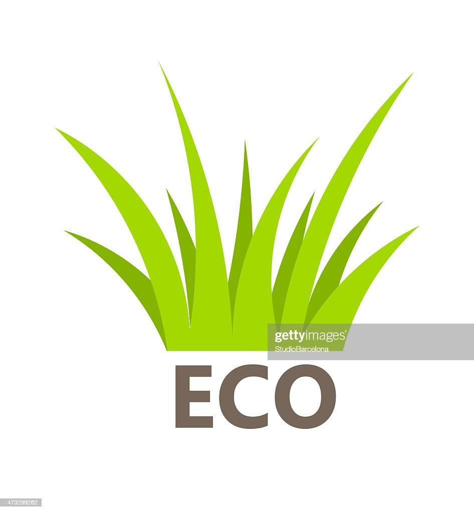 Green grass symbol