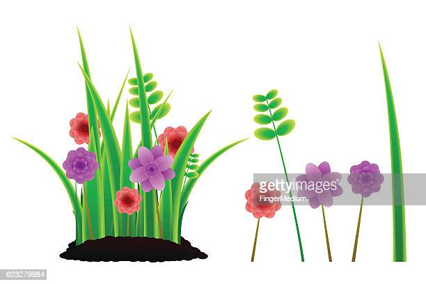 green grass - blade of grass stock illustrations