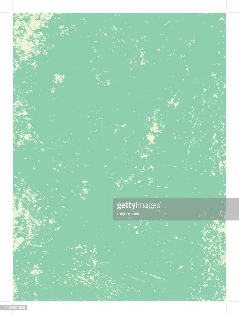 Texture grunge verde : Illustrazione stock