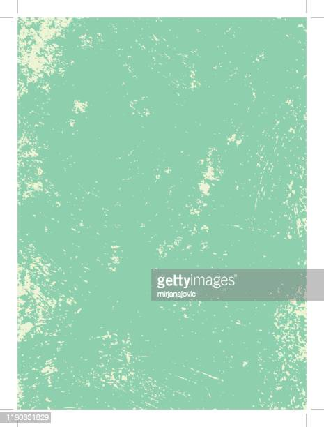 green grunge texture - dirty stock illustrations