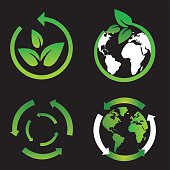 Green Icons- Vector