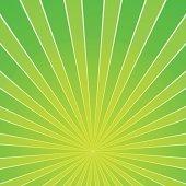 Green Light Beam Background