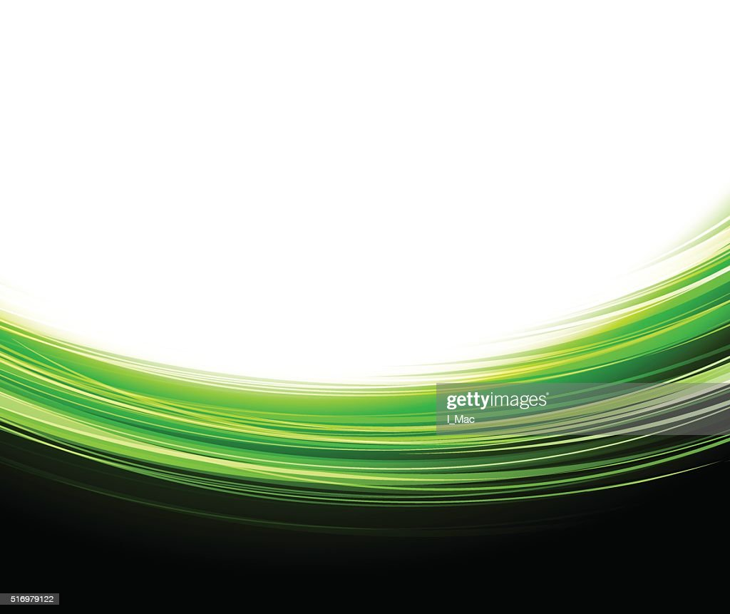Green lines. Abstract background