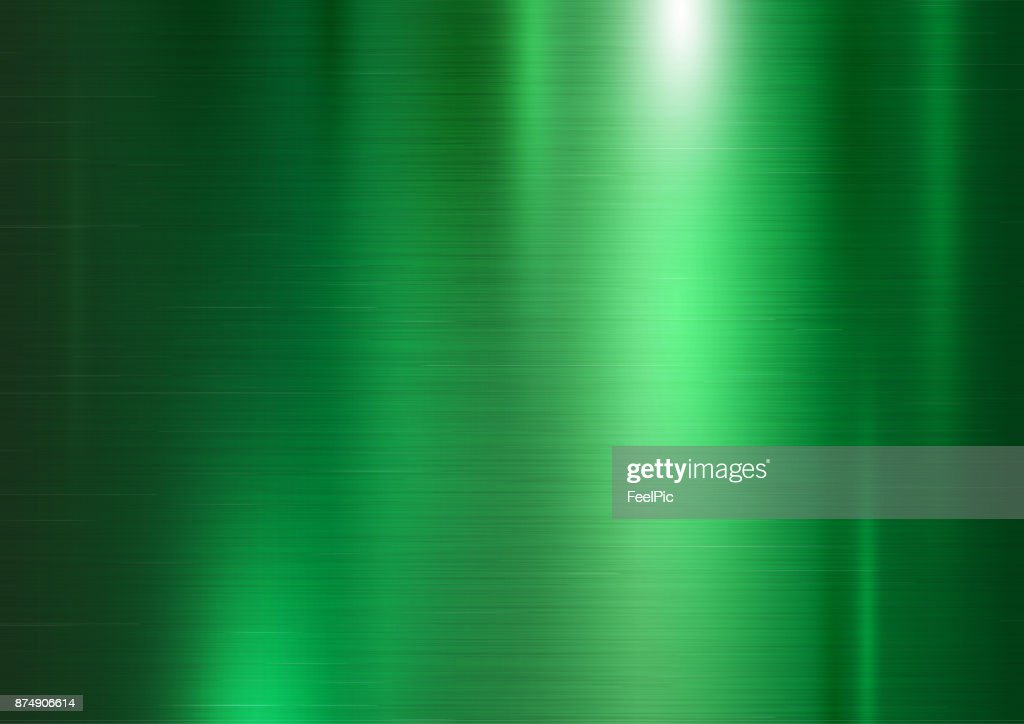 Green metal texture background vector illustration