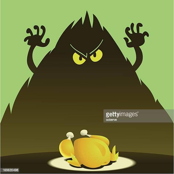 ilustraciones, imágenes clip art, dibujos animados e iconos de stock de verde mol - pollo asado