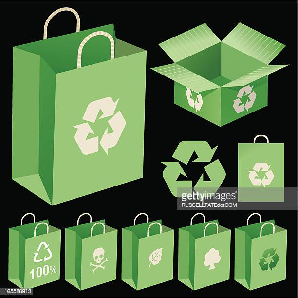 green packaging - information symbol stock illustrations, clip art, cartoons, & icons