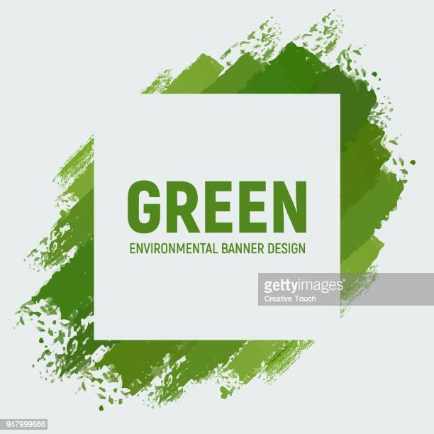 Green Recycle Banner