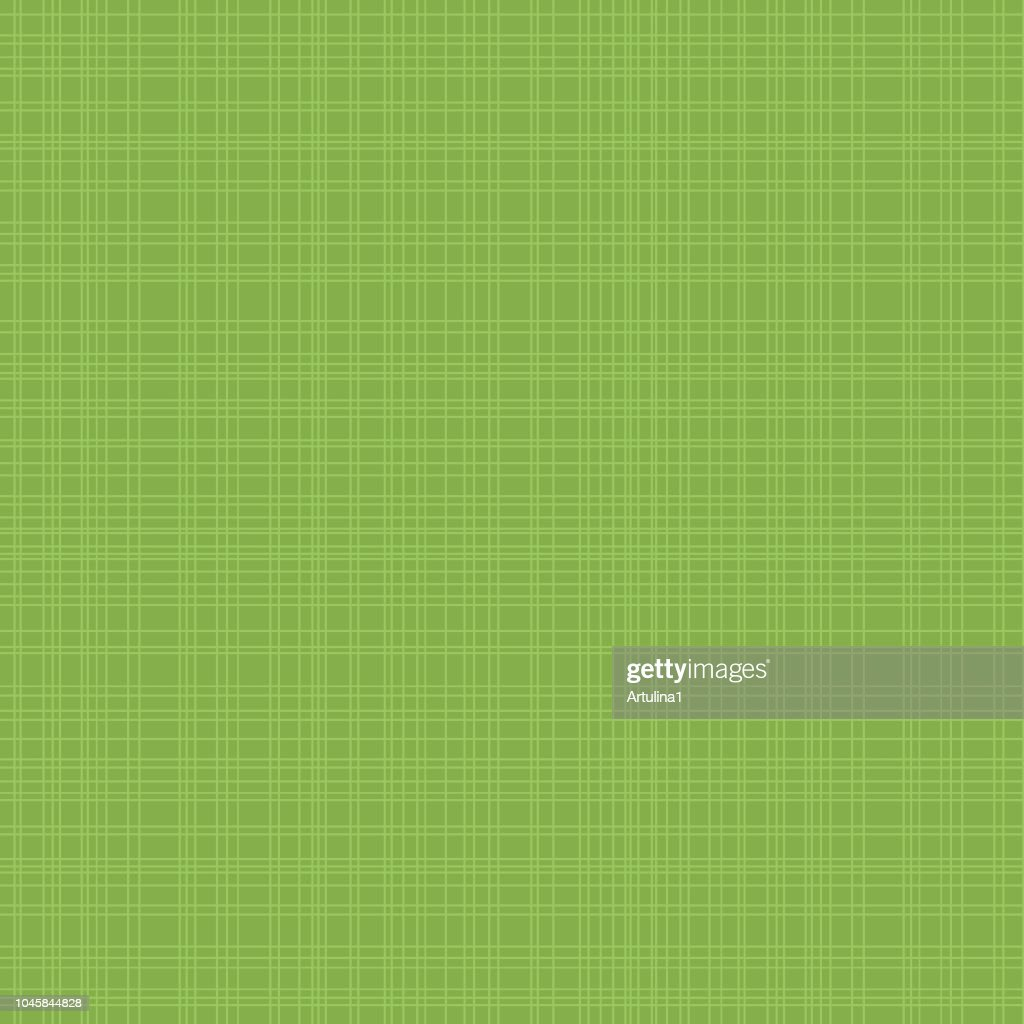 Green seamless hatch pattern with cross lines