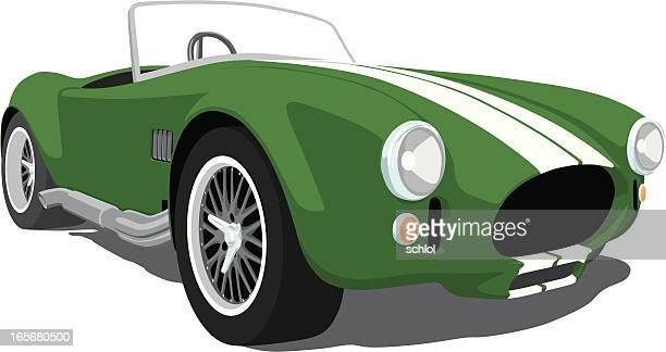 Green Shelby Cobra Roadster