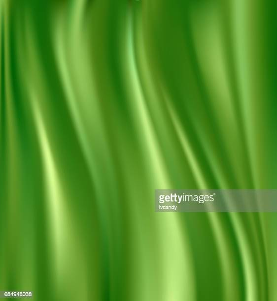 green silk background - silky anteater stock illustrations