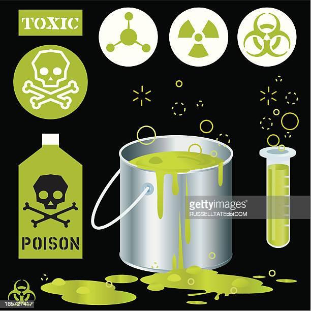 green sludge toxic - slimy stock illustrations, clip art, cartoons, & icons
