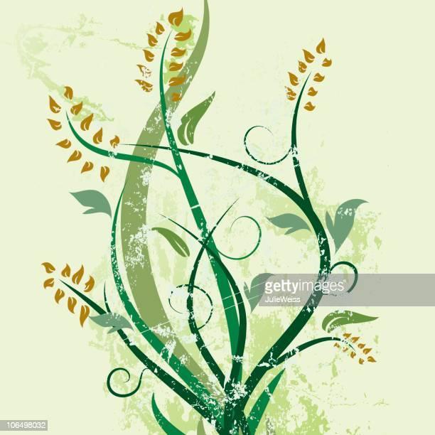 green spring embellishment - embellishment stock illustrations