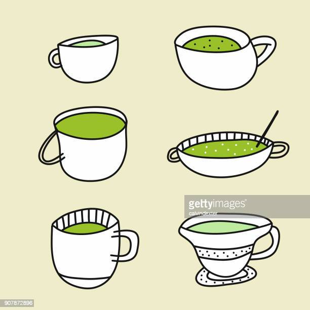 39 抹茶 Stock Illustrations Clip Art Cartoons Icons Getty Images